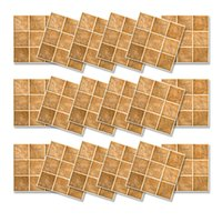 Wholesale sticker tiles for kitchen for sale - Group buy top Selling x PVC Mosaic Tile Wall Sticker Decals Home Bathroom Kitchen Decoration cm Ideal For Smooth And Clean Tiles