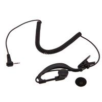 g gancho venda por atacado-Preto 2.5mm Interfone G-Gancho Fone De Ouvido Fone de Ouvido Walkie Talkie Único Ouvido Fone de Ouvido 1 Pin Apenas Para ouvir para Motorola / ICOM
