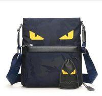 ingrosso panno di spalla degli uomini-Le borse di lusso di Monster Eyes di lusso di trasporto libero adattano la borsa a tracolla del panno di Oxford degli uomini della donna del progettista borse a tracolla di alta qualità shipp libero