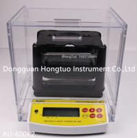 AU-600K NEW Design 2 Years Warranty Electronic Digital Gold Purity Testing Machine , Gold Testing Machine Price