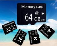8gb sd kart 2gb toptan satış-Toptan Mikro SD Kart 4 GB 8 GB 16 GB Hafıza Kartı 32 GB 64 GB 128 GB microsd TF Kart 2 gb için Cep telefonu / mp3 micro sd 64 gb Ücretsiz okuyucu