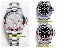 Wholesale batman resale online - 12 Style High Quality Watch Basel World mm GMT Batman Asia Movement Automatic Mens Watches