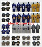 Wholesale youth style for sale - Group buy Stitched Men Women Youth Kids Minnesota Adam Thielen Jersey New Yellow Purple Stefon Diggs Viking Football Jerseys Style