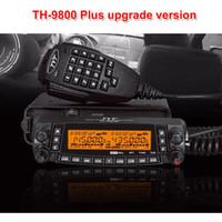 walkie tyt al por mayor-Última versión TYT TH-9800 Quad Band 50W Walkie Talkie Radio TH800 mejorada