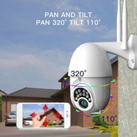 Wholesale ip wifi camera outdoor ptz for sale - Group buy 1080P Wifi Wireless PTZ IP Camera MP Speed Dome Cameras Outdoor Two Way Audio Waterproof Home security CCTV Camera V380