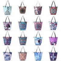 ethnisches leder großhandel-Frauen Ethnischen Stil Umhängetasche Leder Lady Handtaschen Vintage Einkaufstasche Weibliche Retro One Shoulder Bags