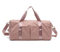nassen spandex großhandel-Mode-große Kapazitäts-Schulter-Beutel für Frauen Schuhe Tas Reisetaschen Wasserdichte Nylon Taschen Dry Wet Handtaschen