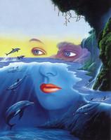 natureza pintura a óleo venda por atacado-Jim Warren Arte abstracta amigos da mãe natureza, pintura a óleo reprodução de alta qualidade giclée na Início Art Decor Canvas Modern