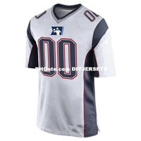 Wholesale football jerseys new england resale online - Mens womens youth kids New England Customized football Jersey White Red Navy color Customized New England SB LII Patch Jersey S XL