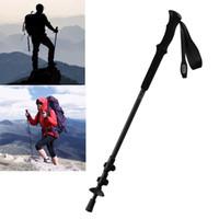 ingrosso trekking pole per camminare-Bastoncini da trekking in fibra di carbonio Xiaomi Bastone da trekking regolabile ultra leggero e resistente, bastone da passeggio regolabile, bastoncino da trekking
