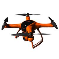 ingrosso grande elicottero di controllo-Drone RC con fotocamera M1 motore brushless GPS 5.8G FPV 12MP 3 assi giunto cardanico a 4.3 pollici schermo LCD Quadcopters Dron