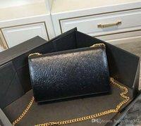 ingrosso sacchetto nero del vestito-Designer-Fashion Borse da donna in vera pelle di alta qualità Abito da donna di lusso Borsa a tracolla nera 5086