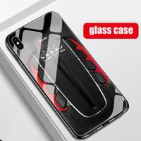 iphone turbo al por mayor-Envío gratis caja de teléfono de cristal templado Audi Twin Turbo V8 rs para iphone X XR XS Max 7 6 6S 8 más casos