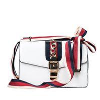 ingrosso sacchetti bows all'ingrosso-borsa all'ingrosso delle donne di marca dolce e bella arco del nastro borsa a tracolla delle donne Joker borse a catena in pelle borsa a tracolla moda borsa a tracolla