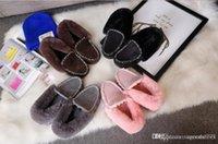 ingrosso prezzo di lana di cotone-Prezzo basso stivali di pelliccia femminile caldo un'edizione del han aggiungere scarpe di lana di lana inverno lana maomao scarpe studenti doug scarpe invernali stivaletti