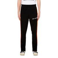 Ausverkauf Sportliche Mode Schwarze Weite Hose mit Weißen