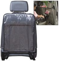 cubierta limpia al por mayor-Car Auto Seat Back Protector Cover para niños Kids Kick Mat Mud Dirt Clean Kicking Mat HHA164