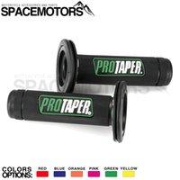 manillar verde carretera al por mayor-Green Pro Taper gel como agarre del manillar de 7/8