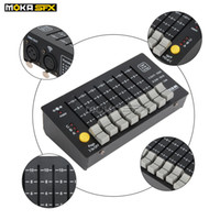 consoles de equipamentos venda por atacado-Mini Stage Controlador 24 canais portátil do console DMX para estágio LED Lighting Equipment