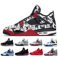 Wholesale game iv resale online - 2018 Cheap Sale IV Basketball Shoes Sports Sneakers Men s BLACK MOTORSPORT GAME ROYAL BLUE Shoes