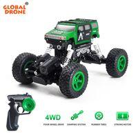 4x4 maschine großhandel-Global Drone RC Elektrizität Fahrzeuge Autos Maschine auf dem Radio 4x4 Drive Off-Road-Fernbedienung Auto Spielzeug für Kinder