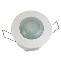 sensor lâmpada automática lâmpada venda por atacado-Teto PIR Infrared Body Motion Sensor Detector Lâmpada Luz Mudar Lampholder Para lâmpada LED Bulb automático ON OFF SY0259