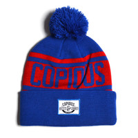 Wholesale custom made winter hats for sale - Group buy 100 Acrylic Made Low MOQ OEM Custom Logo Pom Pom Beanie Cap Wth a Woven Label Colorful Hip hop Knitted Hat Unisex Cap