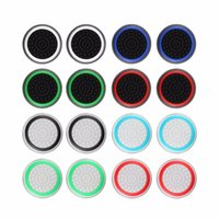 Wholesale ps4 xbox one caps resale online - Non slip Silicone Analog Joystick Thumbstick Thumb Stick Grip Cap Case for PS3 PS4 Xbox Xbox One Controller Protect Cover