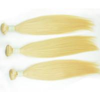 renkli atkı tüyü toptan satış-Remy Rus İnsan saç atkı 3/4/5 demetleri vücut dalga sarışın ham saç dokuma renkli düz 613 ağartma bakire saç uzantıları ücretsiz