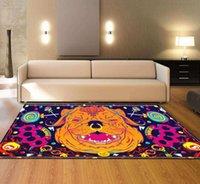 Wholesale livingroom rugs for sale - Group buy Nodic Art Catoon Print Modern Carpet Rectangle Anti Slip Floormat Fashion Large Blanket Table Area Rug for Livingroom Bedroom