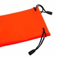 Wholesale microfiber cleaning bag resale online - High Quality Cloth Fabric Bags Sunglasses Microfiber Phone Sunglasses Eyeglasses Pouch Bag Soft Cleaning Case New