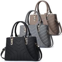 Wholesale navy leather handbags for sale - Group buy Purses Handbags Fashion Women bags handbag PU leather handbags women bags messenger shoulder tote Bag crossbody