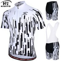 bicicletas mountian al por mayor-KIDITOKT 2019 Summer Anti-UV Cycling Jersey Set Mountian Bicycle Cycling Sportswear Ropa de hombre MTB Bike Suit