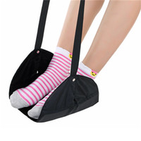 Wholesale outdoor adult sleeping bags for sale - Group buy Travel Airplane Foot Hanging Rest Pad Office Home And Outdoor Hammock Feet Relax Sleeping Bags For Lazy People Portable myH1