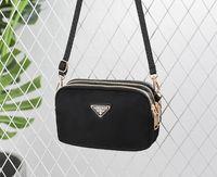 ingrosso nuove borse di tela-Hot Nuova nuova moda semplice borsa del telefono cellulare Oxford borsa multi-strato di grande capacità croce borsa a tracolla delle donne raffinata eleganza