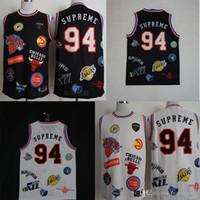 super-qualität trikot großhandel-Top NCAA Jersey Jor # 94 Super-Me Dan Basketball Jersey New ncaa billig und fein Top-Qualität gut