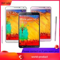 Wholesale note 32g for sale - Group buy Original Refurbished Samsung Galaxy Note3 Note N9005 N900A INCH G RAM G G ROM Android Quad Core MP Camera Unlocked Cellphone