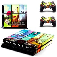 Wholesale nintendo game accessories resale online - Game No Man s Sky PS4 Skin Sticker Decal for Sony PlayStation Console and Controller Skin PS4 Sticker Vinyl Accessory