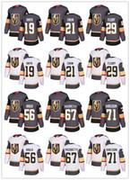 nhl jerseys envío al por mayor-Envío gratuito Vegas caballeros de oro de los hombres de Marc-Andre Fleury gris Inicio de hockey sobre hielo Jersey White Road Max Pacioretty cosido NHL Jersey