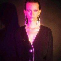 neues ankunftsheißes kleidmodell großhandel-Frauen Neuer Ankunfts-Art- und Glanz Rhinestone-große Ohrringe baumeln Schmucksache-heißen Verkaufs-Modell anzeigen Kleid Statement Ohrringe Zubehör
