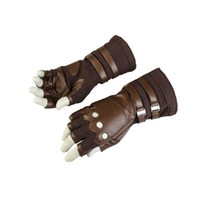 Wholesale female captain america cosplay for sale - heap Movie amp TV costumes Movie Avengers Infinity War Costume Captain America Cosplay Gloves Props Steven Rogers Cosplay Halloween P
