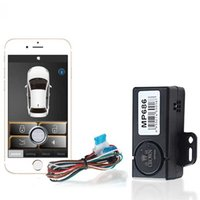Wholesale remote central entry lock locking resale online - APP Smartphone Keyless Entry Sheriff Car Alarm System For Android Central Locking Remote Smart Key Automatic Trunk Opening