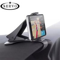 suporte para grampo de montagem venda por atacado-Suporte do carro do telefone para o iphone samsung telefone celular universal dashboard mount clipe de saída de ar de 360 graus de rotação do carro styling stand