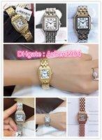pulseira de moda japão venda por atacado-7 Estilo 2019 NOVA WSPN0006 Japão Quartz Silver Case Aço Inoxidável Pulseira De Aço Sapphire Moda Senhora De Vidro Relógios