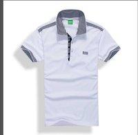 moda tişört kadın sokak toptan satış-Yaz Sokak giyim Avrupa Paris Moda Erkekler Yüksek Kaliteli Büyük Kırık Delik Pamuk Tshirt Casual Kadın Tee T-shirt S-3XL