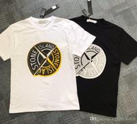 fremde polo großhandel-35 europäischen und amerikanischen Außenhandel Männer Anti-Paul T-Shirt Kurzarm Stickerei Polo-Shirt