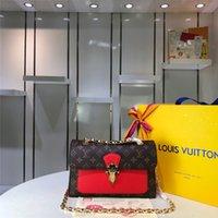 ingrosso borse medie delle signore-Adatti a donne i sacchetti spalla catena di medie dimensioni borsa a tracolla crossbody stile carino per le signore