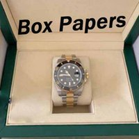 Wholesale blue box auto for sale - Luxury watch mm LN LV LN LB Automatic watch Box papers Ceramic bezel Sapphire crystal mens watches watch watches