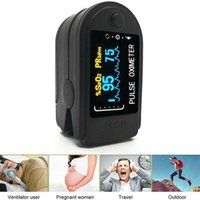 Wholesale pulse oximeter for sale - Group buy Fingertip Pulse Oximeter SPO2 Blood Oxygen Saturation Monitor Heart Rate Monitor OLED Digital Display