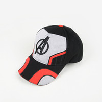 Wholesale cosplay heroes for sale - 2019 New movie Avengers Visors Hats D embroidery Baseball Caps cartoon Super hero Cosplay Sun Hat Summer Cap C6745